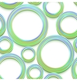 seamless pattern with colored threads and shadows vector image vector image