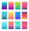 soft color gradient modern light background set vector image