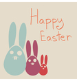 Happy Easter Rabbit Bunny vector image vector image