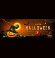 happy halloween sale pumpkin smile vector image vector image