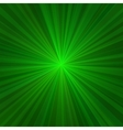 Light Green Rays Abstract Background vector image vector image