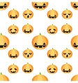 Seamless Halloween pattern with pumpkins
