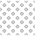 sniper scope pattern seamless vector image vector image