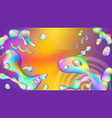 basic rgbabstract background with colorful drops vector image vector image