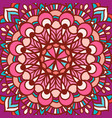 color circular pattern in square vector image vector image