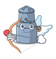 cupid milk can character cartoon vector image