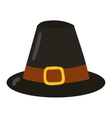 Old farm hat vector image