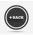 arrow sign icon back button navigation symbol