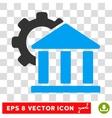 Bank Settings Eps Icon vector image