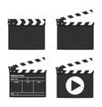 Clapper Boards vector image