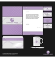 Corporate Identity vector image vector image