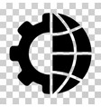 international manufacture icon vector image