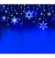 precious snowflakes vector image vector image