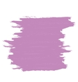 Purple banner of brushstrokes vector image