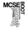 your in the army now so welcome to the mcse boot vector image vector image
