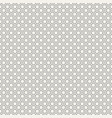 abstract simple circles pattern of different sizes vector image
