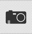 Camera icon on isolated background flat