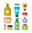deodorant cream tooth paste soap vector image
