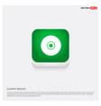 disc icon green web button vector image