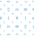 fresh icons pattern seamless white background vector image vector image