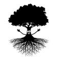 Good luck tree vector image