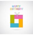 Happy Birthday Modern Paper Background