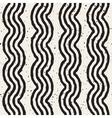 Seamless Hand Drawn Wavy Lines Grunge vector image