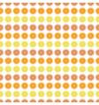 seamless pattern with orange lemon grapefruit vector image