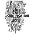 your it career beware the comfort zone text word