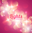 Bokeh Abstract Light Background vector image vector image