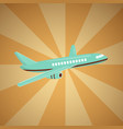 cheap flights flight concept vector image vector image