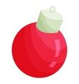 Christmas ball icon cartoon style vector image vector image