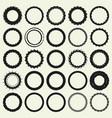 circle frame set vector image vector image
