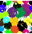 Colored blobs set vector image vector image