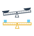 concept of measurement a ruler vector image vector image