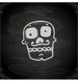 Hand Drawn Day of the Dead Cartoon vector image