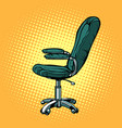 office chair furniture for work and business vector image