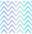 pastel color zigzag pattern vector image vector image