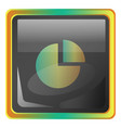 storage grey icon with colorful details on white vector image vector image