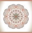 circular pattern set vector image vector image