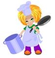 cook boy vector image vector image