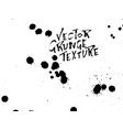 handdrawn grunge texture abstract ink drops vector image vector image