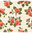 Seamless Floral pattern 6 vector image vector image