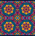seamless pattern amask vector image