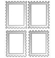stamp frameworks vector image vector image