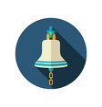 Bell marine flat icon Summer vector image vector image