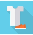 Clothing and Footwear in Flat Design vector image