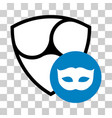 nem privacy mask icon vector image