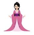 Oriental Princess vector image vector image