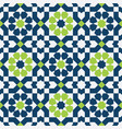 abstract colorful seamless islamic pattern vector image vector image